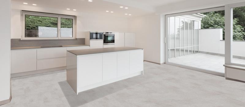 PVC Vloeren in keuken en woonkamer